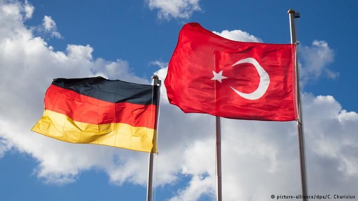 Туркия Германияга нота юборди