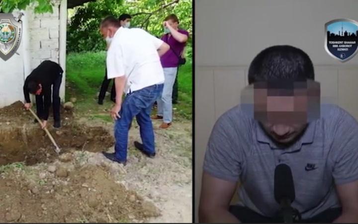 Toshkentdagi dahshatli qotillik haqida lavha tayyorlandi (video)