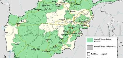Xarita: Afg'onistonda siyosiy vaziyat qanday tus olmoqda?