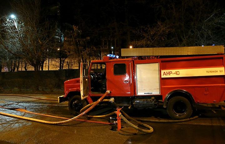 Пять человек пострадали при пожаре в центре Москвы