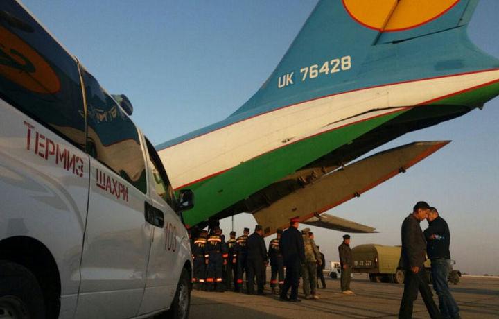 Ўзбекистонликлар жасадлари ортилган самолёт Тошкентга қўнди