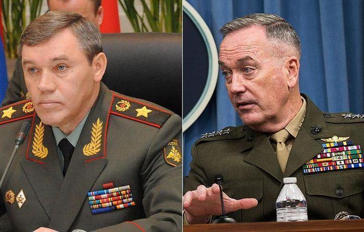 Герасимов и Данфорд обсудили Сирию