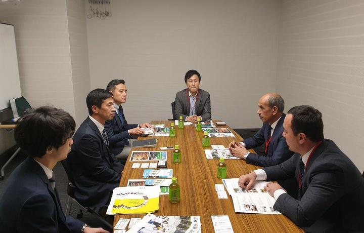 ТАТУ Япония билан ҳамкорликни кучайтирмоқда (фото)