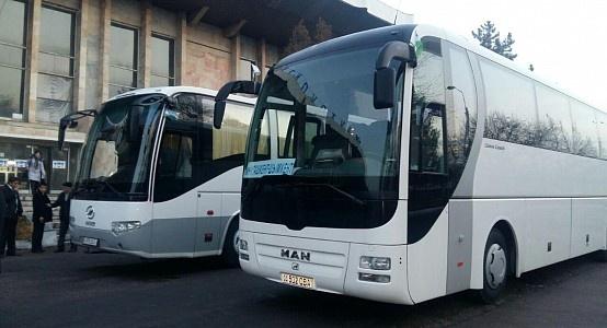 O'zbekiston-Turkmaniston: avtobus qatnovi yo'lga qo'yiladi
