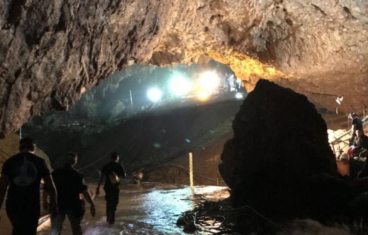 Илон Маск опубликовал фото из затопленной пещеры Кхао Луанг (фото)