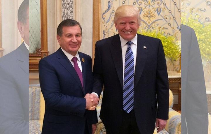 АҚШ Президентидан Шавкат Мирзиёевга мактуб келди