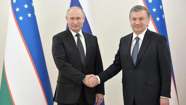 Shavkat Mirziyoyev Putin bilan telefon muloqoti o'tkazdi