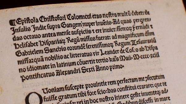 Письмо Колумба вернулось в Ватикан (видео)