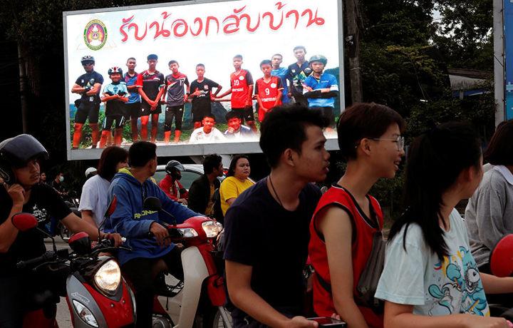 Спасенная из пещеры в Таиланде футбольная команда не приедет в Москву на финал ЧМ