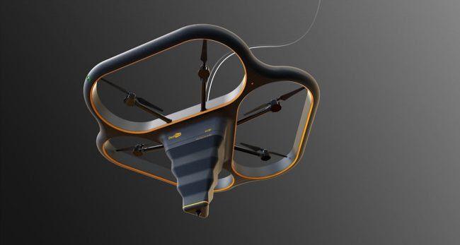 Тиниб-тинчимас хитойликлар учар 3D-принтерни яратди