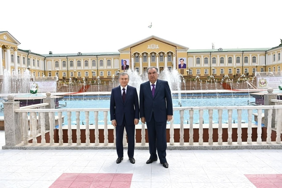Шавкат Мирзиёев яхши муносабатлар «архитектори» — Эмомали Раҳмон