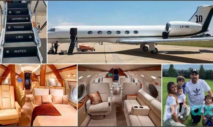 Месси одолжил свой личный самолёт президенту Аргентины