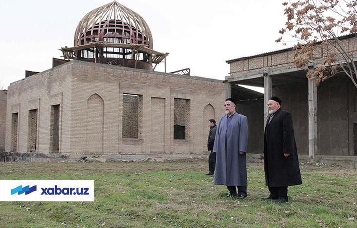 Hazratimning nomi berilayotgan masjid qurilishi turli sabablarga ko'ra ikki marta to'xtab qolgandi (foto)