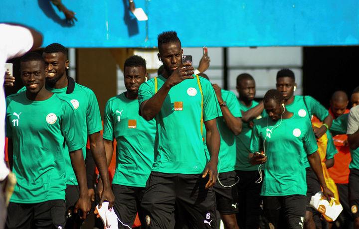 Сборная Сенегала прилетела в Россию на ЧМ-2018 по футболу
