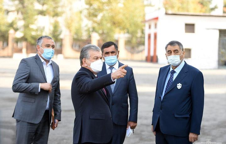 Президент посетил строительство нового здания Ташкентского архитектурно-строительного института