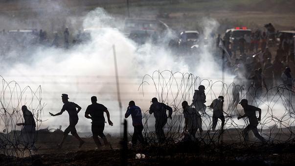 Газа: новые протесты — новые убитые (видео)
