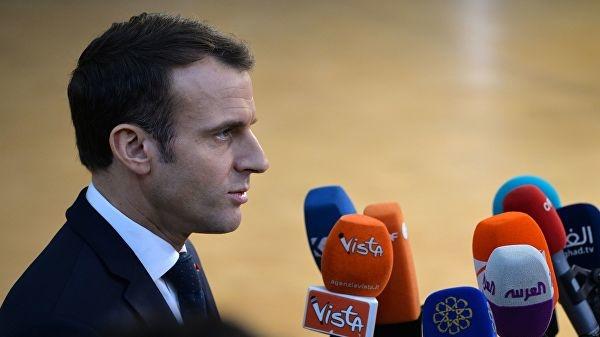 Макрон: ЕС не может быть заложником кризиса в Британии