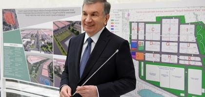 Президент Сергелида замонавий индустриал технопарк қуриш бўйича кўрсатма берди