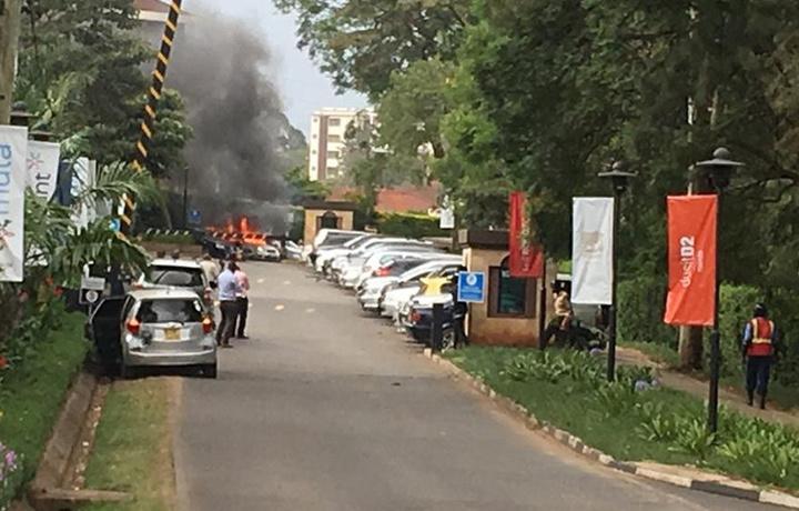 Взрыв произошёл в гостиничном комплексе в Кении (фото+видео)