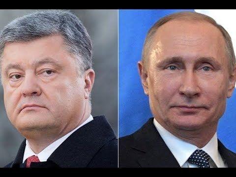 Путин Порошенко билан мулоқот қилди