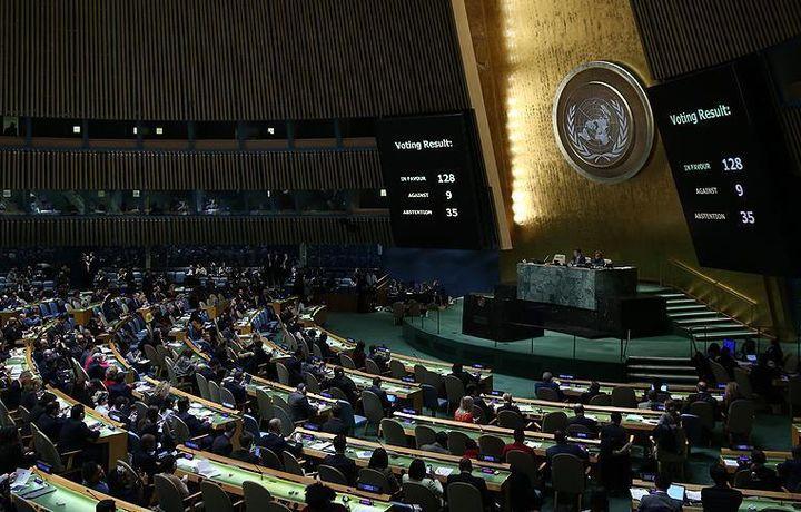 ООН приняла резолюцию по защите палестинцев