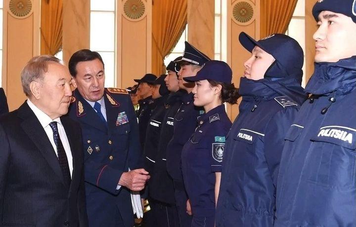 Қозоғистон полициячиларининг формаси янгиланди (фото)