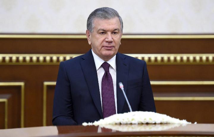 Шавкат Мирзиёев Сума Чакрабартини қабул қилди