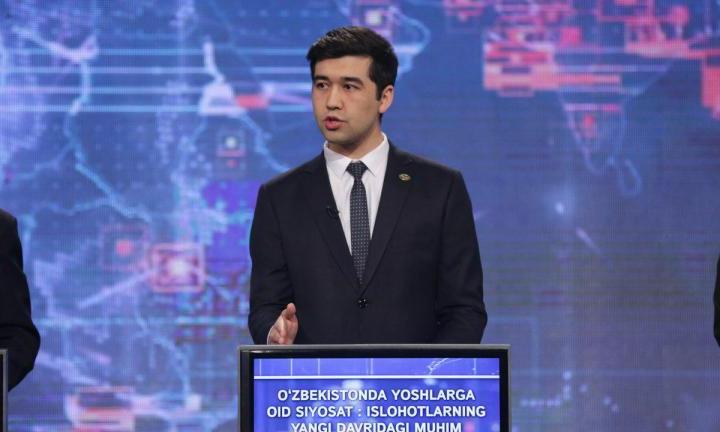 Alisher Sa'dullayev: «Endi Yoshlar ittifoqida a'zolar bo'lmaydi!» (video)