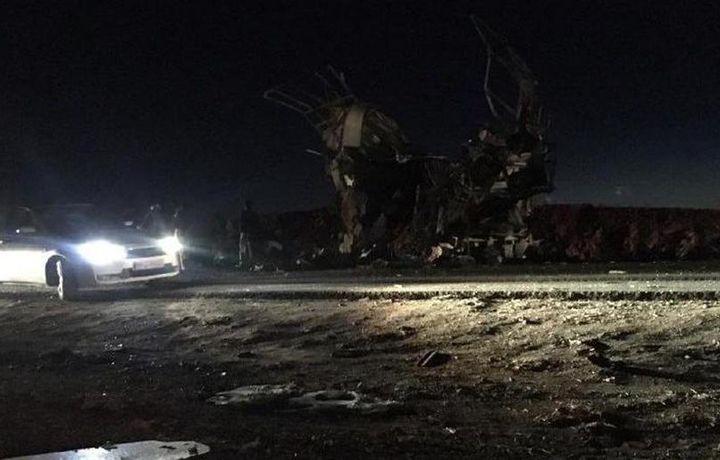 Более 20 военных погибли при взрыве в Иране (видео)