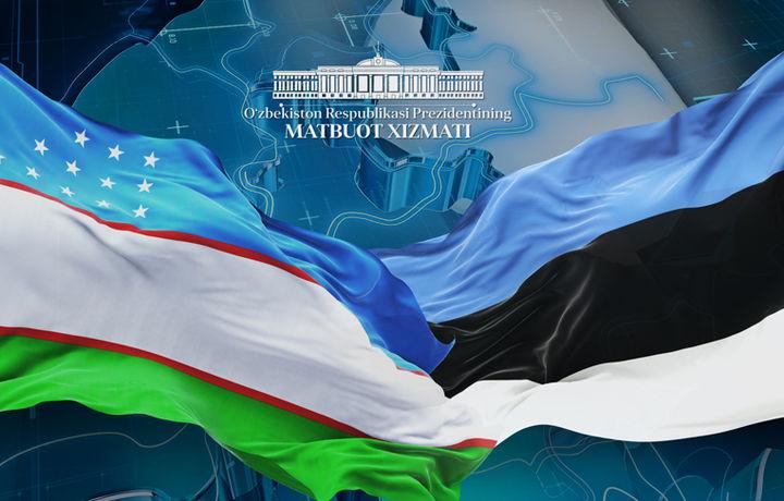 Шавкат Мирзиёев Эстония Президентини табриклади