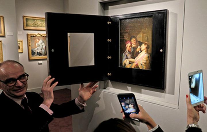 Эгалари 800 долларга сотмоқчи бўлган сурат Рембрандтнинг 4 миллион долларлик картинаси эканлиги маълум бўлди