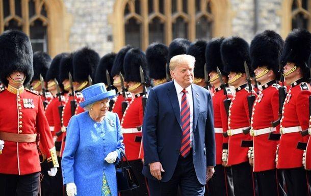 Трамп посетит Британию в июне