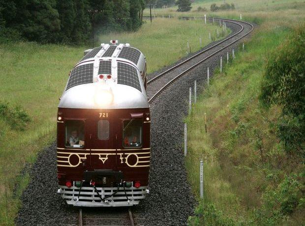 Австралияда дунёдаги биринчи «қуёш» поезди ўз қатновини бошлади