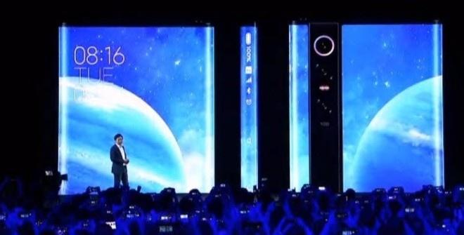 Xiaomi обернула смартфон Mi Mix Alpha экраном