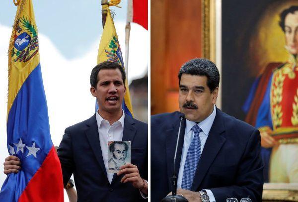 Международная реакция на события в Венесуэле (инфографика)