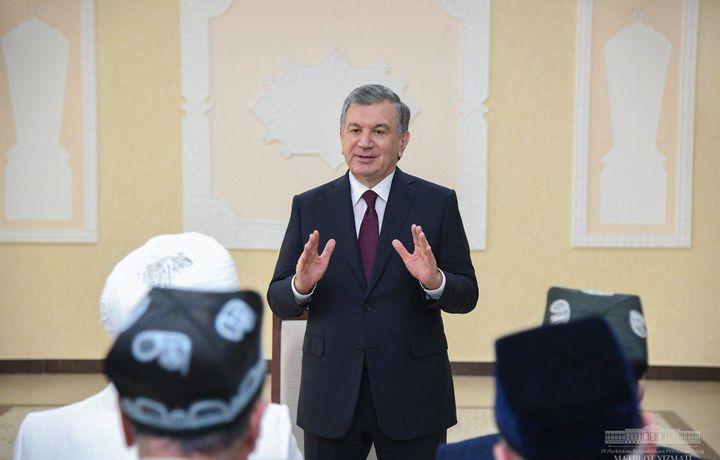 Shavkat Mirziyoyev: «Odamlar bizga ishonyapti, ertangi kunga umid bilan qarayapti» (foto)