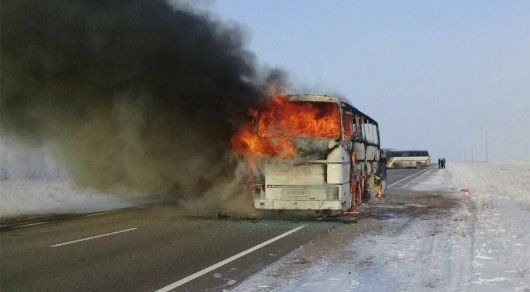 52 ўзбек ёнган автобус эгасига ҳукм ўқилди
