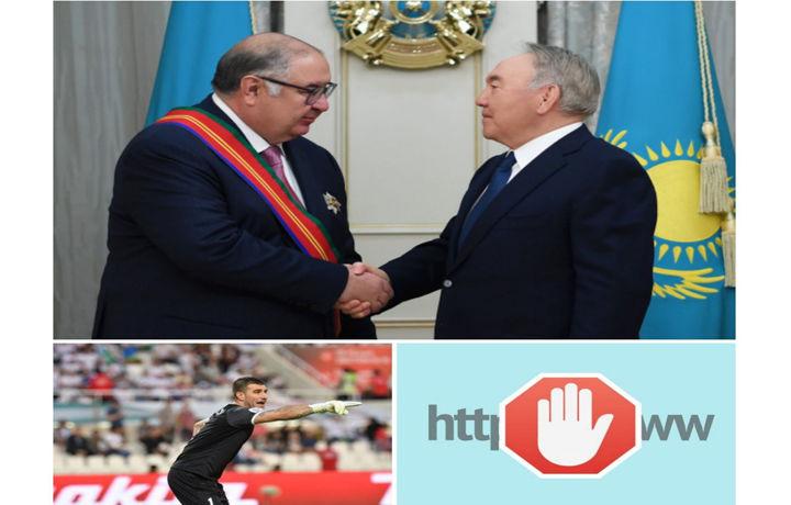 Orden olgan Usmonov, Nesterovning futboldan chetlatilishi, blokdan chiqqan saytlar va boshqa xabarlar