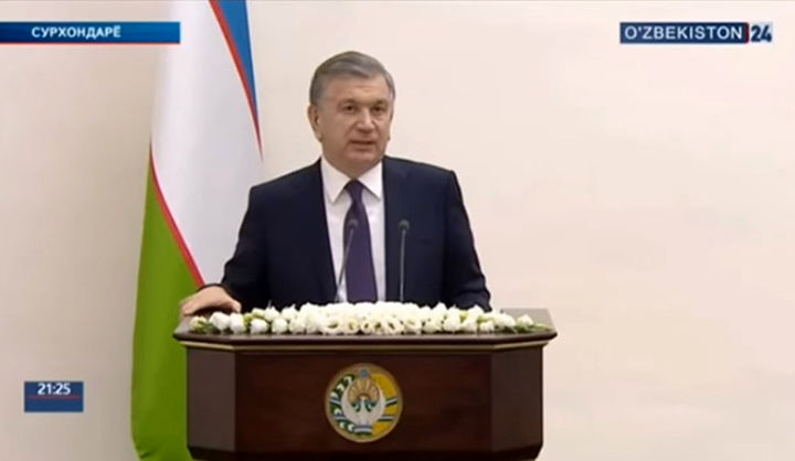 Prezident: «Uch-to'rt yilning ichida Surxondaryoni tanib bo'lmaydigan o'zgarishlar bo'ladi»