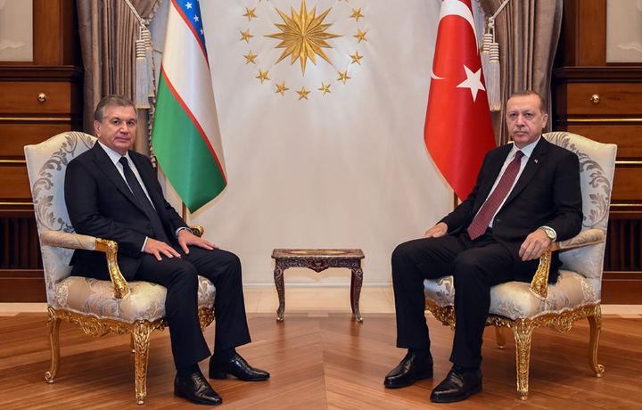 Келаси ҳафта Ўзбекистонга Туркия Президенти ташриф буюради