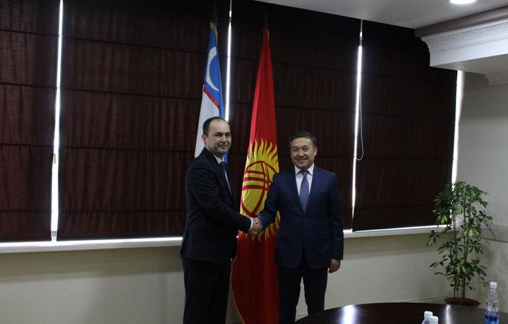 Бош прокуратура делегацияси Қирғизистон молиявий полицияси билан учрашди