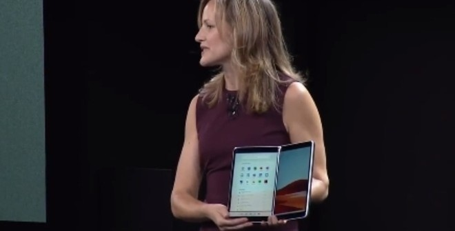 Microsoft представила новую операционную систему Windows 10X (видео)