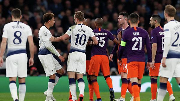 «Тоттенхэм» победил «Манчестер Сити» в 1/4 финала Лиги чемпионов
