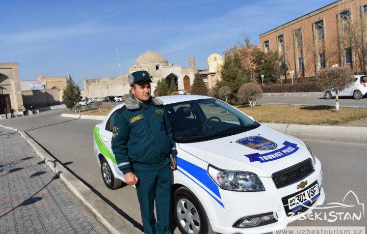 Бухорода «Сайёҳлик полицияси» ташкил этилди