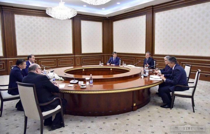 Шавкат Мирзиёев атом энергияси бўйича корпорация бош директорини қабул қилди