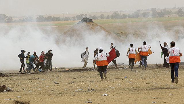 Фаластинда Қуддусда АҚШ элчихонаси очилишига қарши намойишлар қонли тус олмоқда