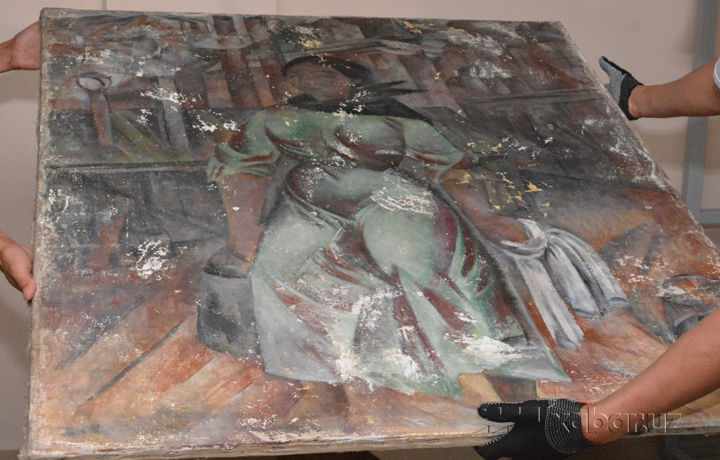 И.Савицкий музейидаги миллион долларлик суратни қайта тиклаб бўладими? (фото)