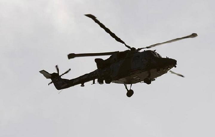 Тайван соҳилида вертолёт изсиз йўқолди