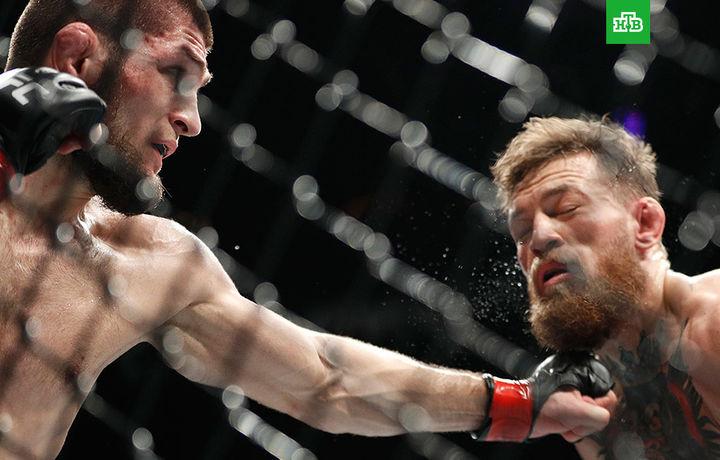 Нурмагомедов победил Макгрегора и сохранил чемпионский пояс UFC (видео)