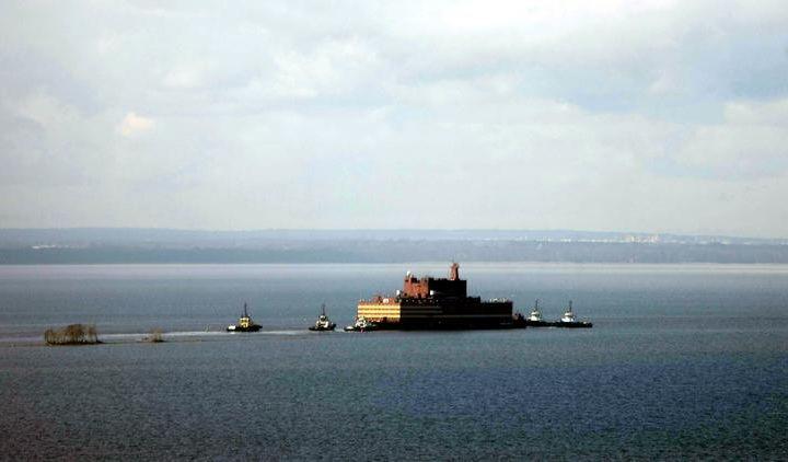 Россия дунёдаги сузиб юрувчи илк атом электр станцияси (АЭС)ни синовдан ўтказаяпти